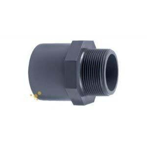 Klebe/übergangsnippel mit einseitiger Muffe 25//32 mm und 3//4 AG