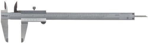 Mitutoyo 530-116 Vernier Caliper, Stainless Steel, 0-8