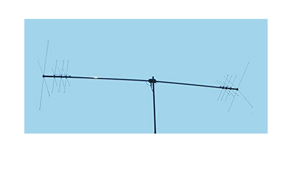 Hamradioshop MFJ-1785 Dipolo giratorio para 20 40 y 80 metros ...