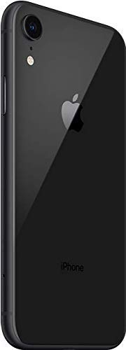 Apple iPhone XR, Fully Unlocked, 64 GB – Black (Renewed)