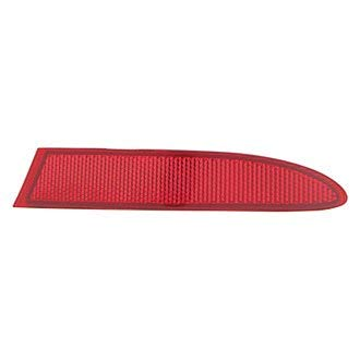 (Value Bumper Face Bar Reflector Rear Passenger Right Side RH Hand X3 OE Quality Replacement)