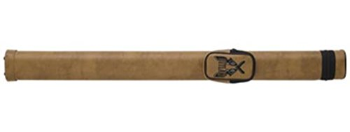 Outlaw 1-Butt and 1-Shaft Vinyl Pool Cue Case with Guns Design