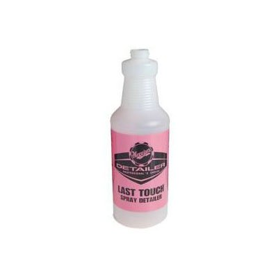 Last Touch spray bottle.