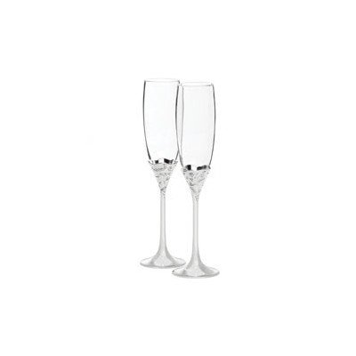 Vera Lace Bouquet Champagne Flute (Set of 2) Stemware Vera Lace