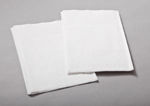 TIDI Products 8251  Autoclave Towels, 19'' x 22'' Size, White (Pack of 300)