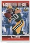 2006 Upper Deck Gridiron - A.J. Hawk (Football Card) 2006 Upper Deck - Gridiron Debut #1GD-AH