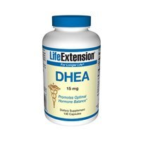 Life Extension DHEA (Dehydroepiandrosterone) | 15 mg 100 capsules ( Multi-Pack) by LifeExtension