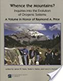 Whence the Mountains?, Raymond A. Price and James W. Sears, 0813724333