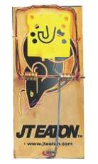 JT Eaton Rat Size 1-1/4-Inch X 3-1/4-Inch X 7-Inch Expanded Trigger Snap Trap, Pack of 12