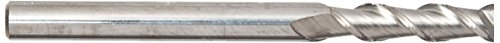 Kodiak Cutting Tools KCT149560 USA Made Solid Carbide End Mill for Aluminum and Other Non Ferrous Metals 2 Flutes 45 Degree Helix 1 8 Shank 1 2 Length of Cut 1 1 2 Overall Length