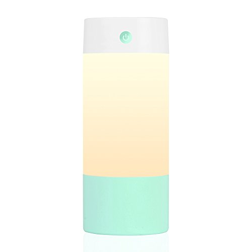 Sbode Humidifier, USB 250 mL Cool Mist Humidifiers for Babies Bedroom, Night Light Mode, and Whisper Quiet for Office Home Car Travel(Green)