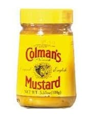 Colman's English Wet Mustard 100g (England) (6 Pack) by British Delights