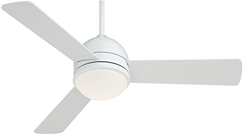 44″ Casa Vieja Trifecta White Ceiling Fan Review