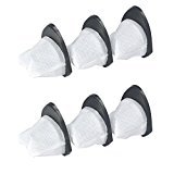 - Shark XSB726N Dust Cup Filters for SV75 & SV75_N (6 Filters pack)