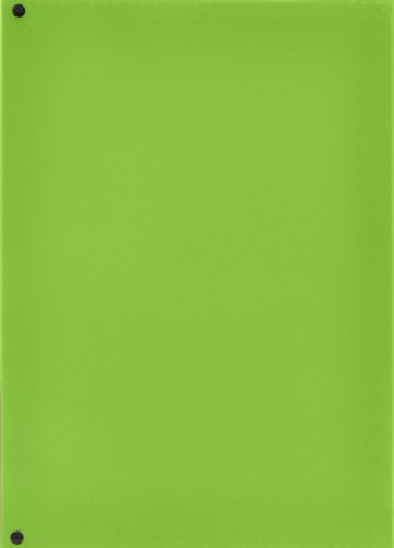 6-Pocket Expanding File, 13 x 9.38 Inches, Lime (72925) Photo #2