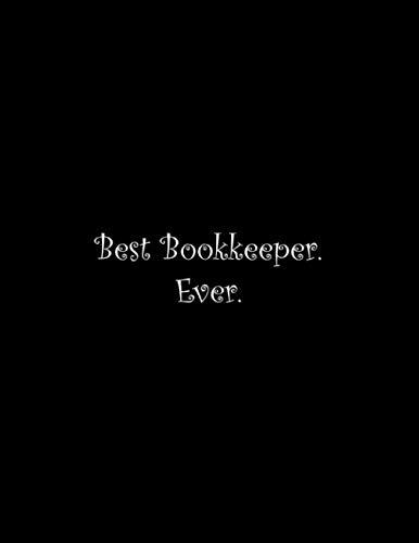 Best Bookkeeper. Ever: Line Notebook Handwriting Practice Paper Workbook