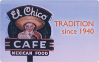 El Chico Cafe Gift Card ($25)