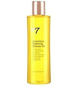 No7 Boots Luxurious Foaming Shower Oil 200ml
