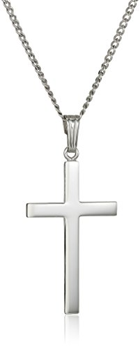 Sterling Silver Polished Pendant Necklace product image