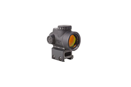 Trijicon MRO C 2200005 20 MOA Adjustable Red Dot Sight with AC32068 Full Co Witness Mount Adaptor 1 x 25mm