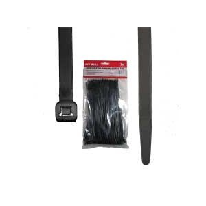 500 Cable Zip Ties 12 Inch Nylon Black (Tamper Proof Zip Tie compare prices)