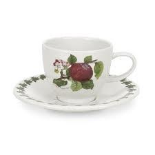 Portmeirion Pomona Espresso Cup and Saucer 0.10L