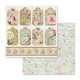 Stamperia - 12 x 12 Paper Pad - Precious
