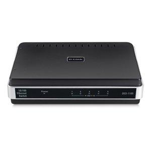 D-Link DES-1105/RE 5-Port 10/100 Unmanaged Switch