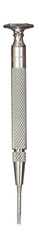 Starrett 555C Stainless Steel Jewelers Complete Screwdriver.070 Head, 33/4