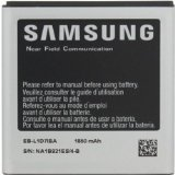 Samsung Battery for Samsung Galaxy S2 1850 mAh Model Number