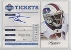 2012 Playoff Prestige Card - T.J. Graham (Football Card) 2012 Playoff Prestige - NFL Draft Tickets - Signatures [Autographed] #34