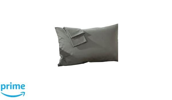 Pillowcase Set of 2 - Toddler Travel Pillowcase 750 Thread Count White  Stripe 8c8e0091e