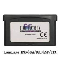 ROMGame 32 Bit Handheld Console Video Game Cartridge Card Final Fantasy/Fire Emblem Series Eu Version Final Fantasy V