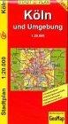 GeoMap Stadtpläne, Köln und Umgebung