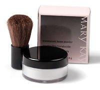 Mary Kay Mini Translucent Loose Powder + Mini Brush ~ Travel Size 1.6g of Powder