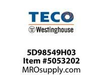 Teco-Westinghouse 5D98549H03 AEROSOL TOUCH-UP SPRAY PAINT DARK GRAY