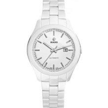 Rado Hyperchrome Automatic White Ceramic Ladies Watch R32258012