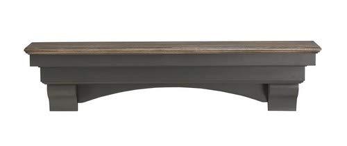 Pearl Mantels 4996027 Hadley Mantel Shelf 60Inch Cottage Distressed