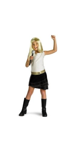 Hannah Montana Costume with Wig - Child Costume - Small (4-6X) (Hannah Montana Wigs)