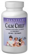 Planetary Formulas Calm Child, 440 mg, Tablets, 150 tablets (Pack of 3)
