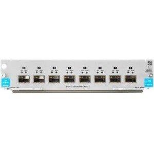 HP J9993A 8 Ports 1G/10GbE SFP+ MACsec v3 zl2 Hub
