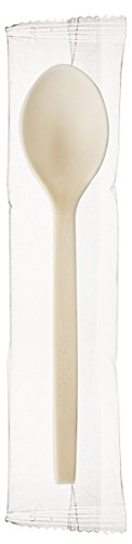 Eco-Products EPS073 7 in. Spoon - Plant Starch Cutlery by Eco-Products, Inc