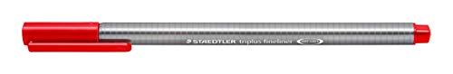 Staedtler Triplus Fineliner Pen - Red