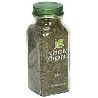 Simply Organic Basil .54 Oz - (Pack of 3) - Pack Of 3 by Simply Organic