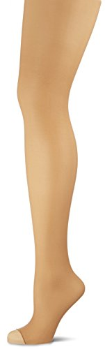 (Wolford Women's Luxe 9 Toeless Tights Fairly Light Large)