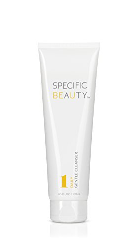 - Specific Beauty - Daily Gentle Cleanser - Non Foaming, Light Fragrance, Oil & Dirt Extracting Wash - 90 Day Supply/4.5 Ounces