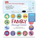 Family Message Center with Sound 2009 Wall Calendar