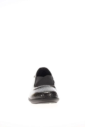 with woman SOFT moccasin wedge 00 Antracite ENVAL 69381 HzZxqwngff