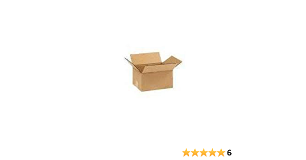 6x6x4 Moving Box Packaging Boxes Cardboard Corrugated Packing Shipping 10-600