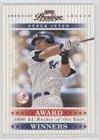 Derek Jeter #619/1,996 (Baseball Card) 2003 Playoff Prestige - Award Winners #AW-15